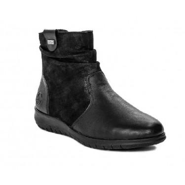 Rieker X0181-00 Zwart