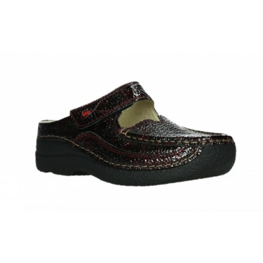 Wolky Roll Slipper Bordo