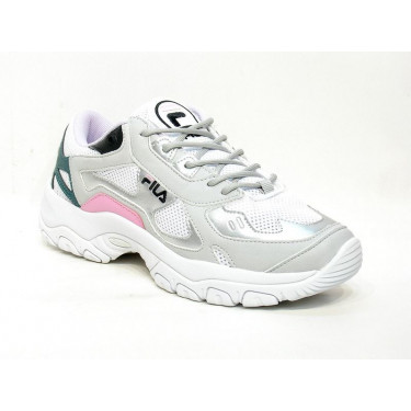 Fila Select Low WMN White Gray Silver