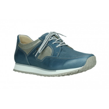 Wolky E Walk Stretch Steel Blue