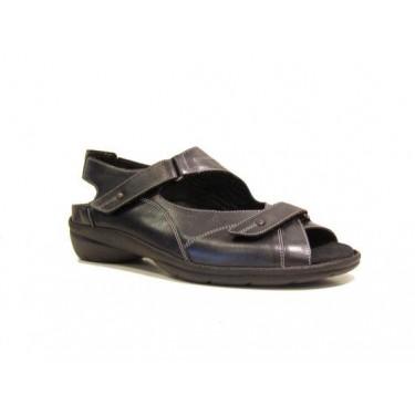 Durea sandalen 7213/215 E Zwart