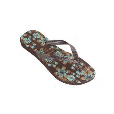 Havaianas Summer Dark Brown Golden (8462)