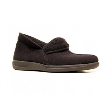Rohde pantoffels 2190/90 Zwart (4193)