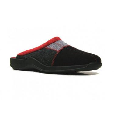Rohde pantoffels 2318/90 Zwart (10031)