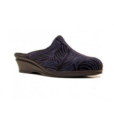 Rohde pantoffels 2371/90 Zwart (8881)