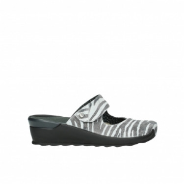 Wolky Up Zebra Offwhite