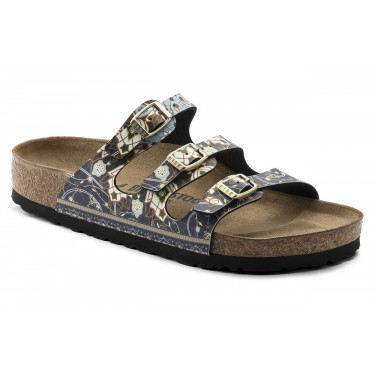 Birkenstock Florida Ancient Mosaic Blue