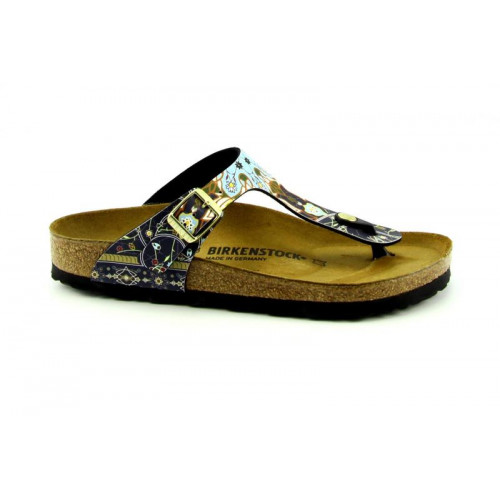 Birkenstock Gizeh BS Ancient Mosaic Blue