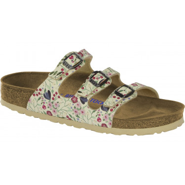 Birkenstock Florida BS Meadow Flowers Khaki