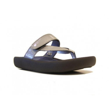 Wolky slippers Serenity Platina (7246)
