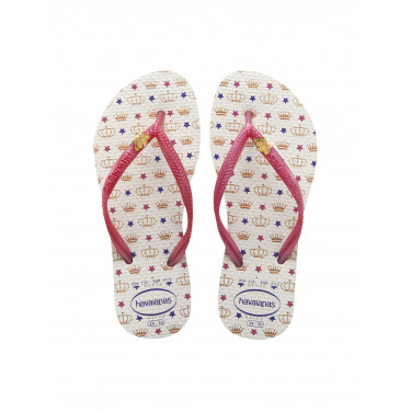Havaianas Kids Slim Dreams Branco White (12177)