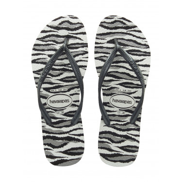 Havaianas Slim Animals White Grey (12187)